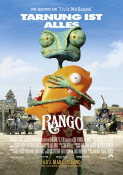 Filmposter Rango