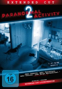 DVD-Cover Paranormal Activity 2