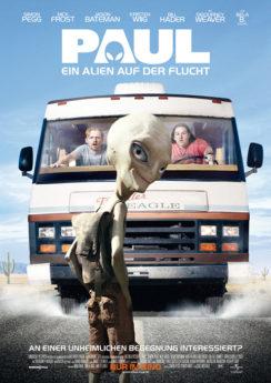 Filmposter Paul - Ein Alien auf der Flucht