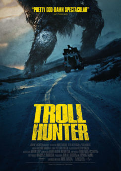 Filmposter Troll Hunter