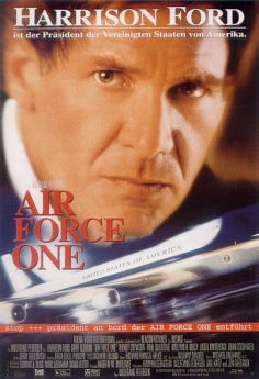 Filmposter Air Force One