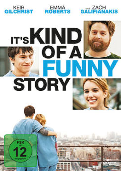 DVD-Cover It's Kind of a Funny Story