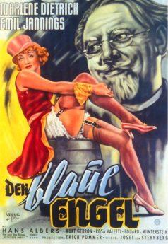 Filmposter Der Blaue Engel