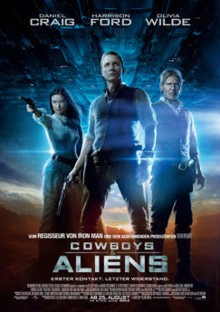 Filmposter Cowboys & Aliens