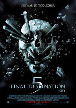 Filmposter Final Destination 5