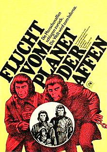 Filmposter Flucht vom Planet der Affen