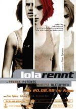 Filmposter Lola Rennt