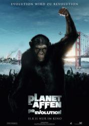Filmposter Planet der Affen: Prevolution