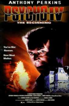 Filmposter Psycho IV – The Beginning
