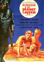 Filmposter Rückkehr zum Planet der Affen