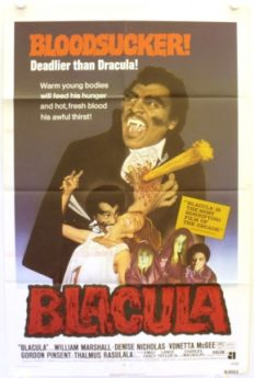 Filmposter Blacula