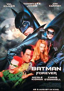 Filmposter Batman Forever
