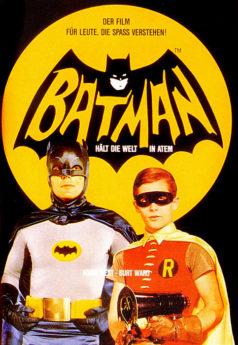 Filmposter Batman hält die Welt in Atem