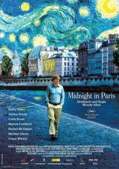 Filmposter Midnight in Paris