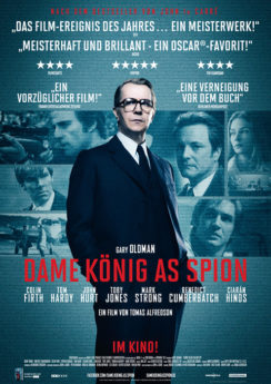 Filmposter Dame, König, As, Spion
