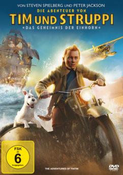 DVD-Cover Tim und Struppi