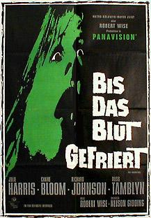 Filmposter Bis das Blut gefriert