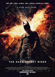 Filmposter The Dark Knight Rises