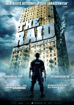 Filmposter The Raid