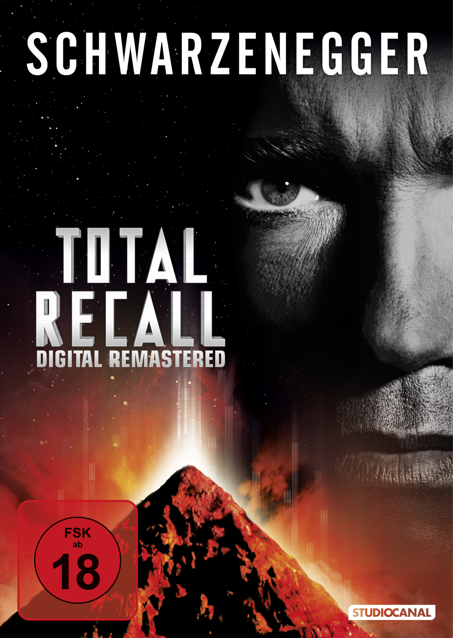 DVD-Cover Total Recall