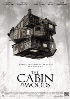 Filmposter The Cabin in the Woods