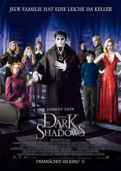 Filmposter Dark Shadows
