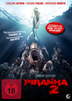 DVD-Cover Piranha 2