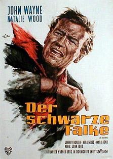 Filmposter Der schwarze Falke