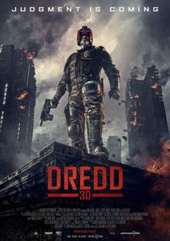 Filmposter Dredd
