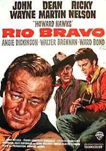 Filmposter Rio Bravo
