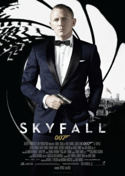 Filmposter James Bond 007: Skyfall