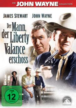 DVD-Cover Der Mann, der Liberty Valance erschoß