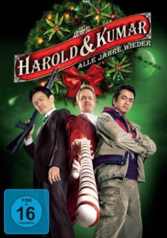 DVD-Cover Harold und Kumar – Alle Jahre wieder