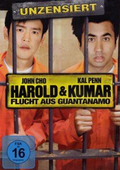 DVD-Cover Harold und Kumar Flucht aus Guantanamo