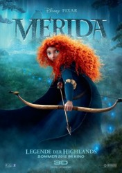 Filmposter Merida – Legende der Highlands