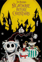 Filmposter Nightmare Before Christmas