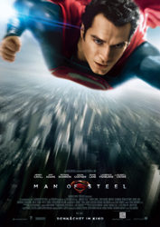 Filmposter Man of Steel