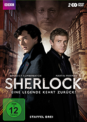 DVD-Cover Sherlock Staffel 3