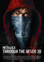 Filmposter Metallica Through the Never