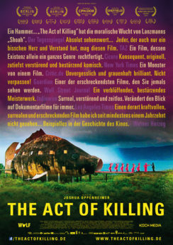 Filmposter The Act of Killing