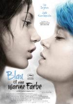 Filmposter Blau ist eine warme Farbe