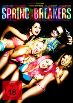 DVD-Cover Spring Breakers