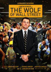 Filmposter The Wolf of Wall Street