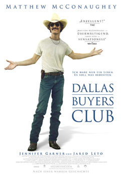 Filmposter Dallas Buyers Club