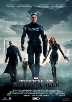 Filmposter The Return of the First Avenger