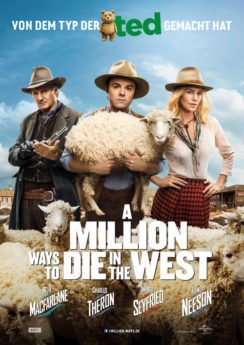 Filmposter A Million Ways to Die in the West