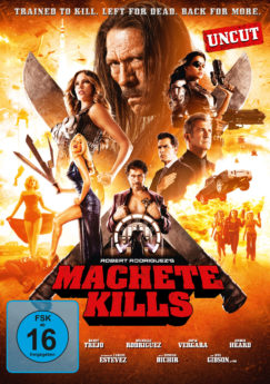 DVD-Cover Machete Kills