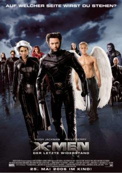 Filmposter X-Men: Der letzte Widerstand