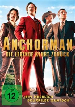 DVD-Cover Anchorman – Die Legende kehrt zuück