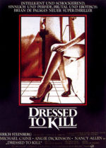 Filmposter Dressed to Kill